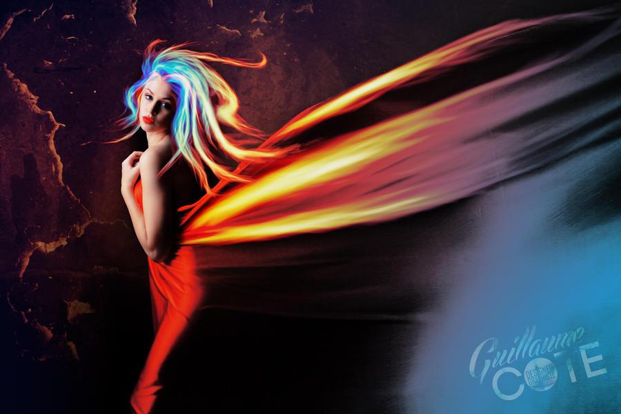 Hair Fire by Graphuss