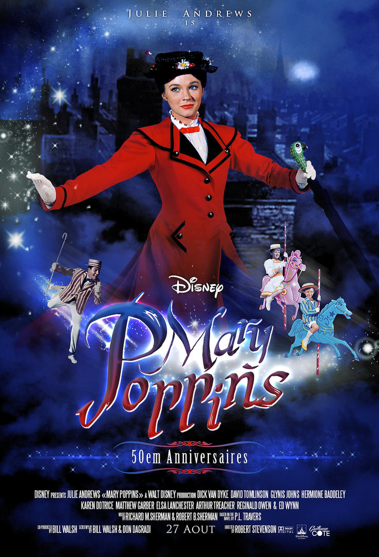 Mary Poppins - 50em Anniversaire by Graphuss
