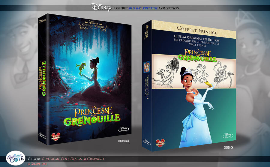 La Princesse et la grenouille - Coffret blu ray by Graphuss