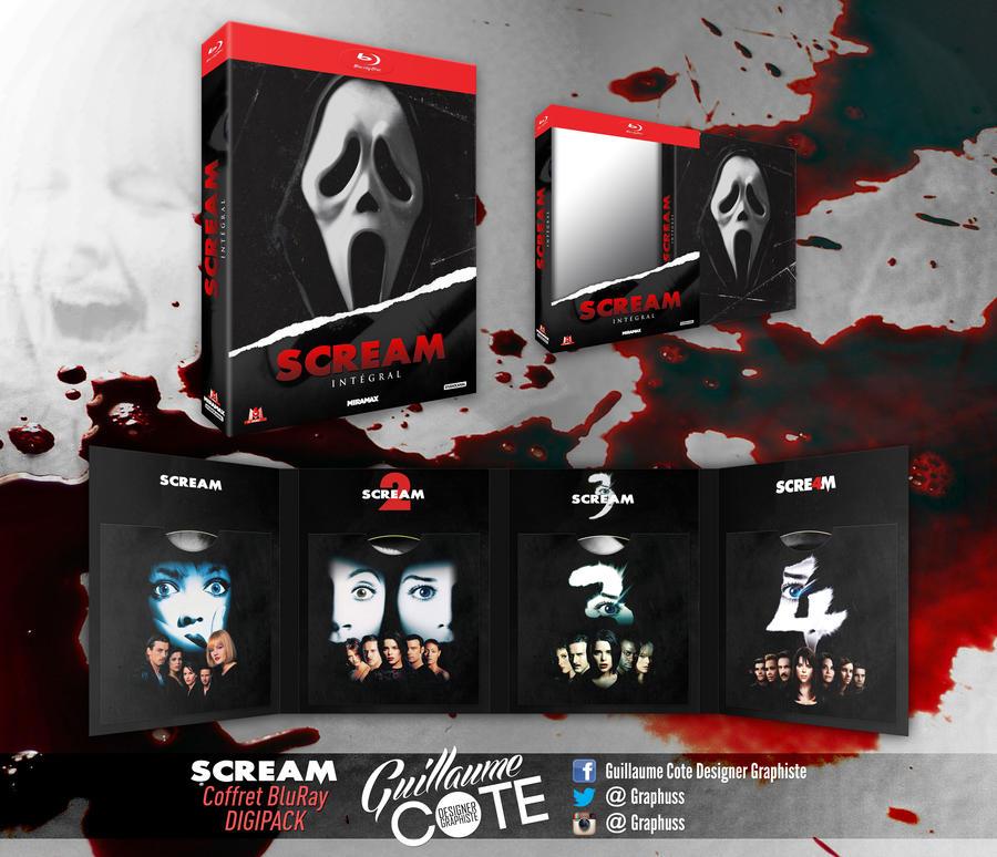 Scream BluRay Digipack by Graphuss
