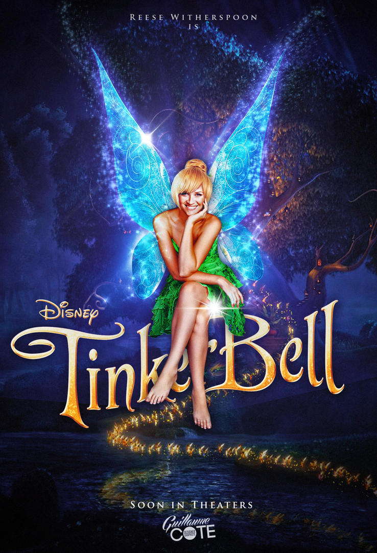 Poster Disney Tinkerbell (With Reese Witherspoon) by Graphuss
