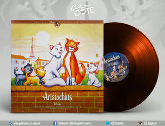 Disney Vinyl - Les Aristochats by Graphuss
