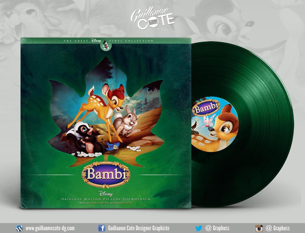 Disney Vinyl - Bambi by Graphuss