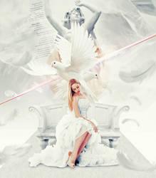 White Angel Dove