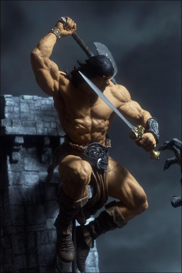 McFarlane Toys Rough Conan by dankatcher