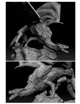 Zbrush Dragon.