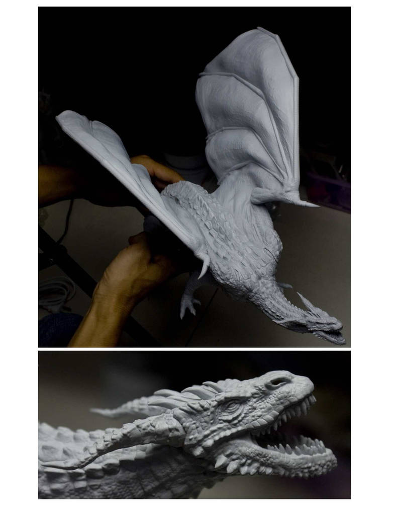dragon printed