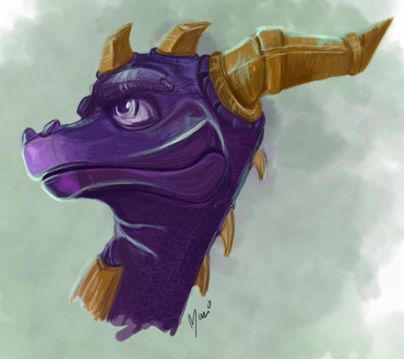 Spyro by marigusmao