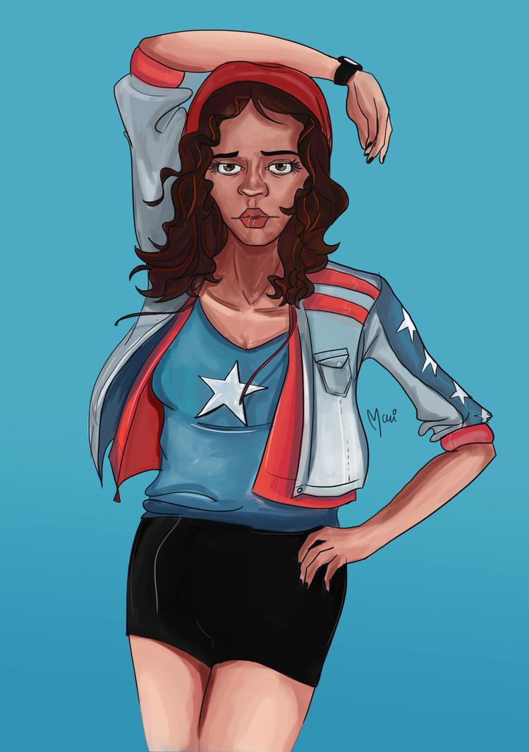 Miss America by marigusmao