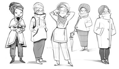 winter Fashion for Hijabi by FEZ07