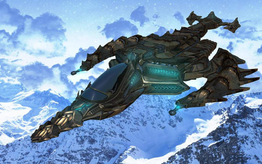Deep Destroyer Final Render by agwesh