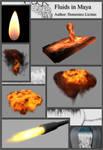 HandBook: Fluids in Maya by agwesh