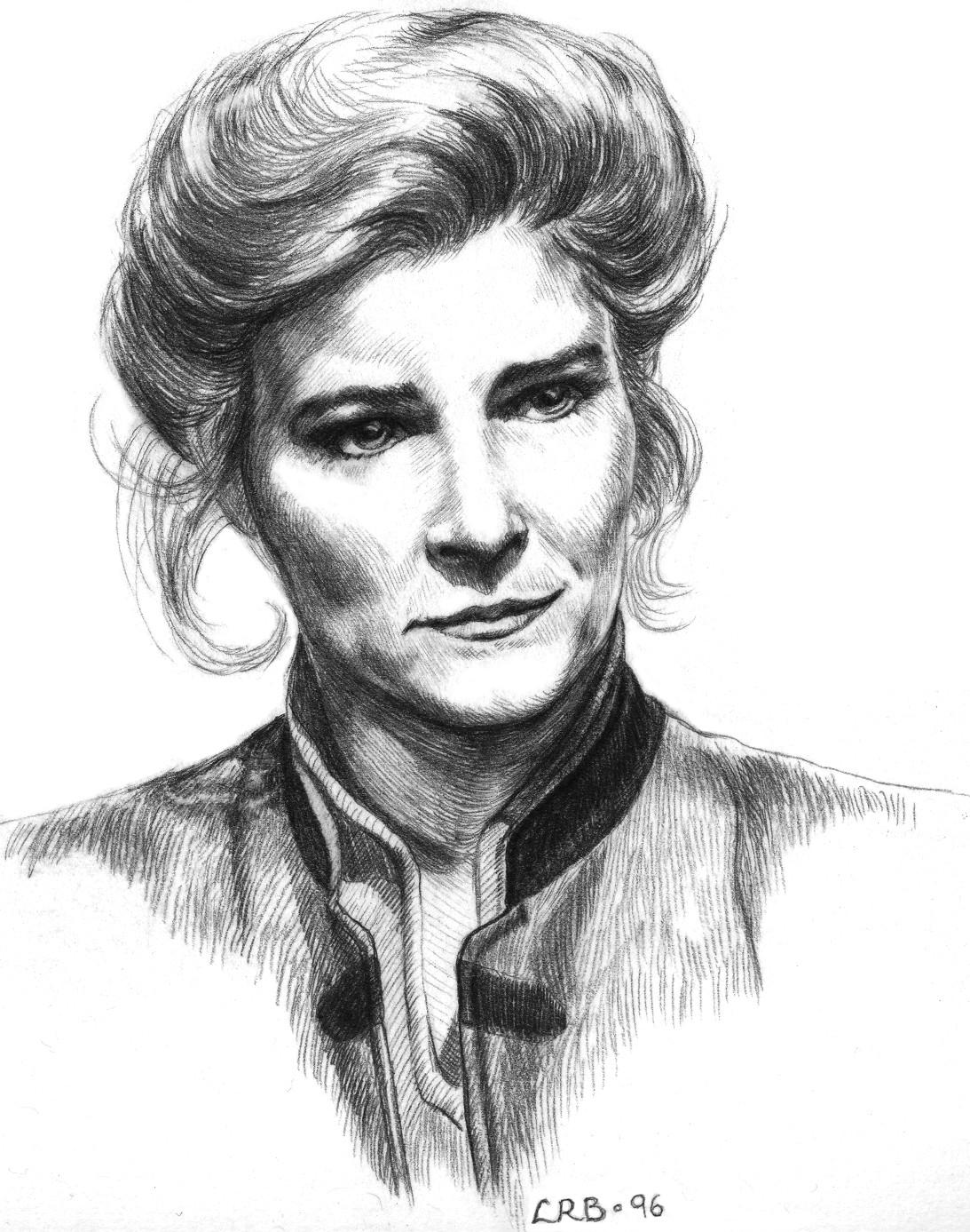 Kate Mulgrew as Janeway by MadameManga