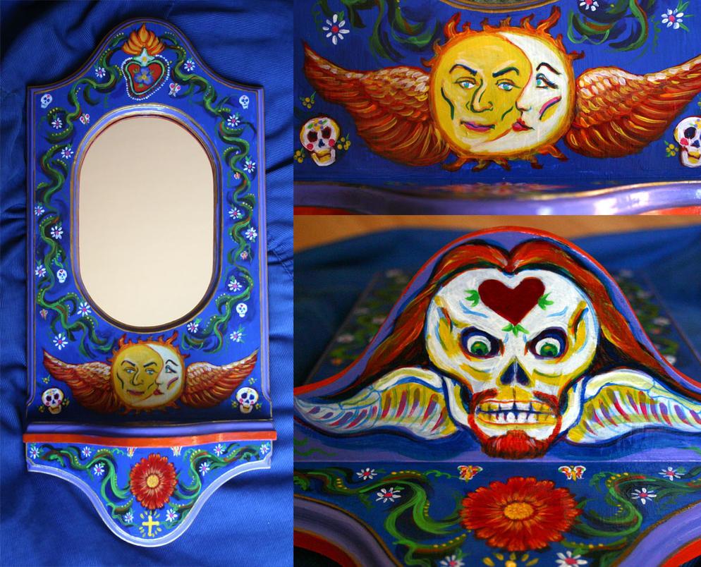 Mexican Mirror by MadameManga