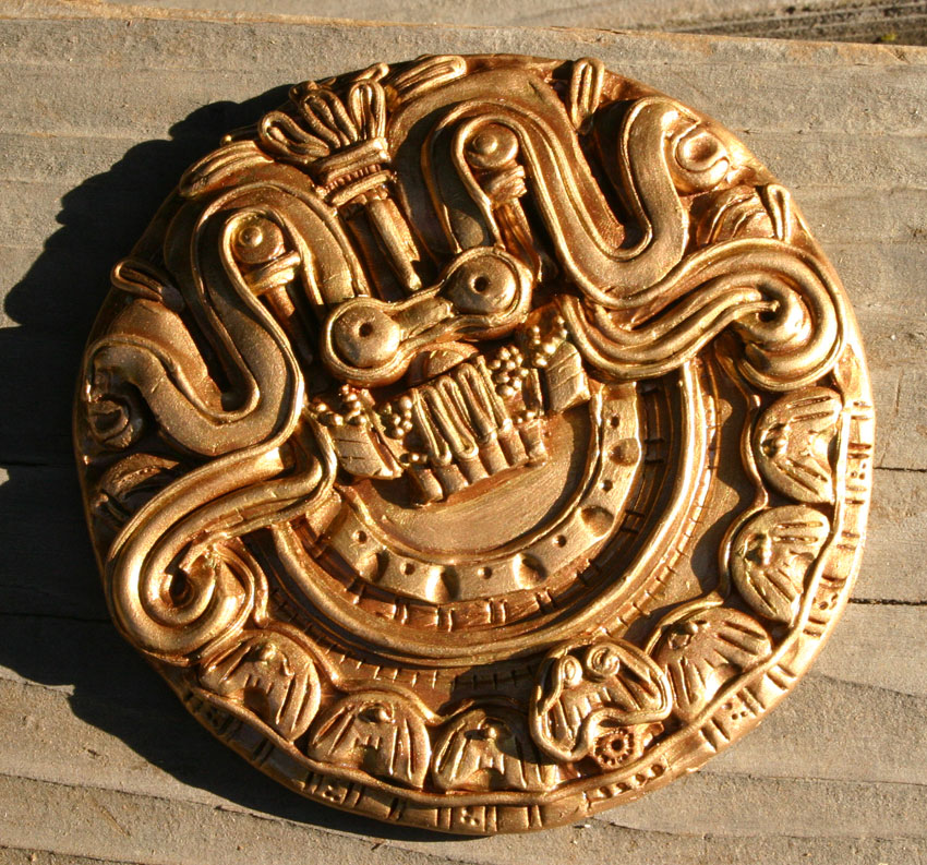 Aztec Plaque by MadameManga