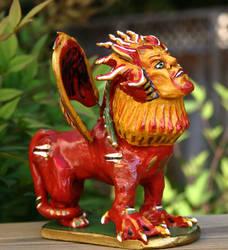 Lion Nagual by MadameManga