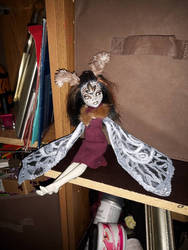 Sephora the moth girl!