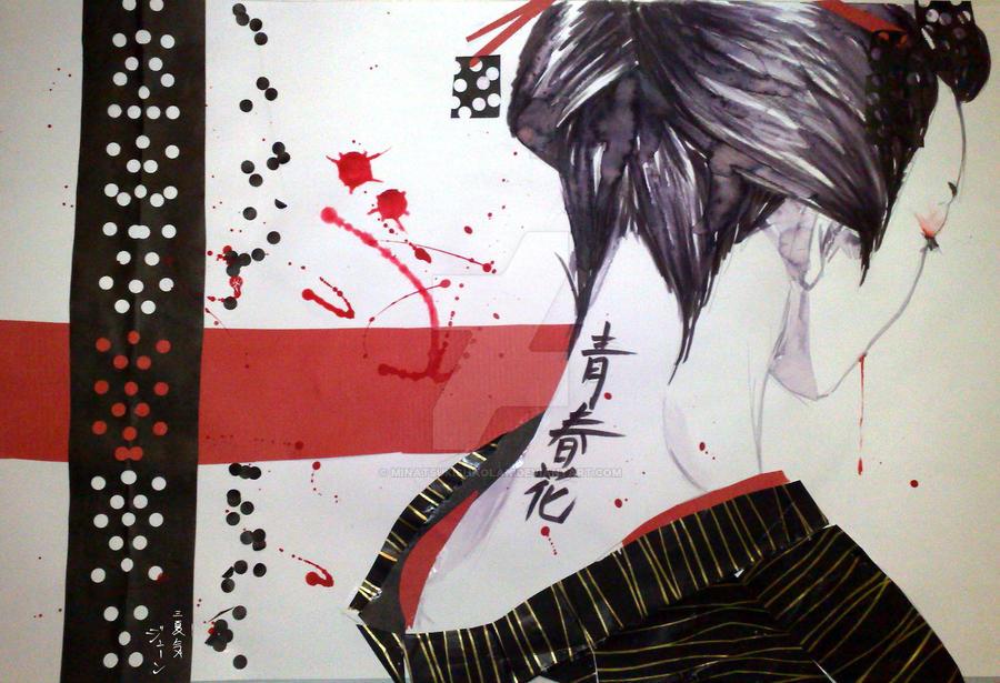 Geisha2 by MinatsukiShaolan
