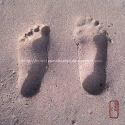 Love in footprints