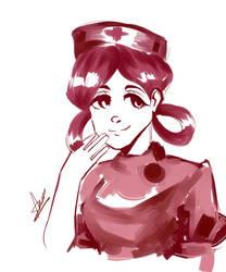 Nurse Joy // SKETCH REQUEST by lilanana