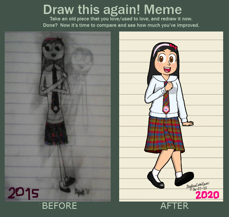 Draw this again! Meme (part 2)