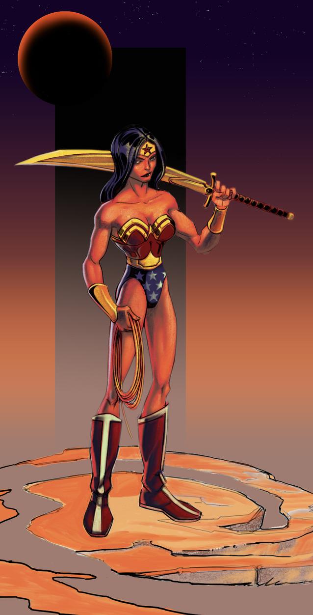 Wonder Woman 01 by JayBaker