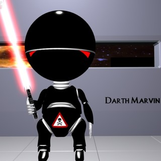 Darth Marvin by StormMageGraphics