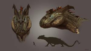 Dragon design by RussellMarks
