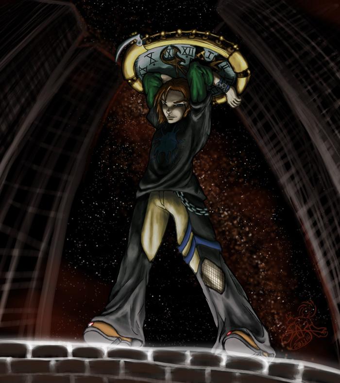 Commission- Ebonyclokk by SamusFairchild