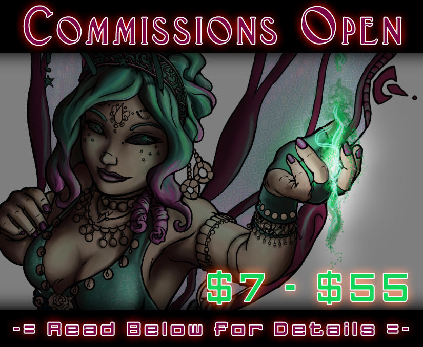 Commissions Now Open