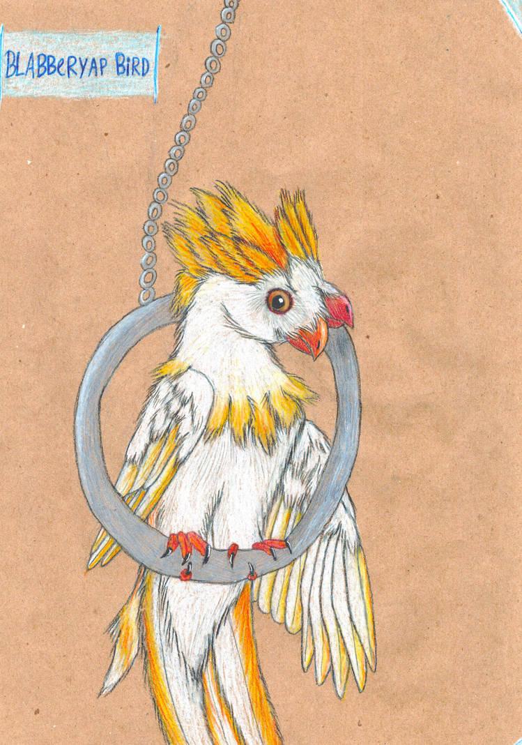 Blabberyap bird