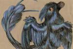 Microraptor by MarinaPterus