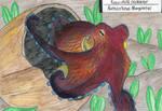 Octopus week: Coconut octopus by EyweenaPterus