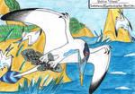 ,,Seabirds,, by MarinaPterus