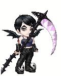 Goth Girl with Syth by GothAndrew