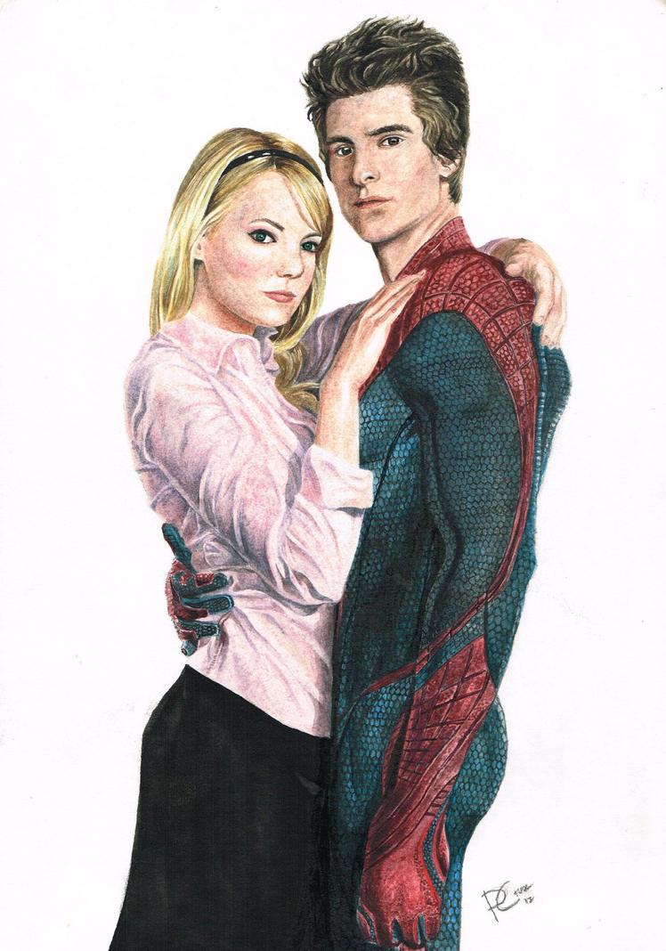 The Amazing Spiderman Watercolor by PhilipCruz30