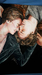 The Fault In our Stars watercolor