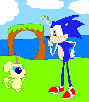 Mepple meets Sonic