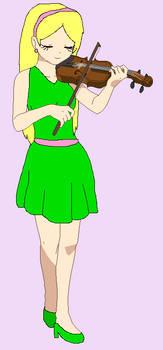 Violinist Jewel Green