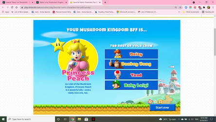 Princess Peach, Mushroom Kingdom BFF