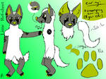 Lime Ref Sheet by jazzyloveswolves