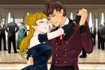 taran and eilonwy waltzing by Shadowofjustice123