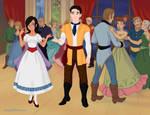 ballroom story by Shadowofjustice123