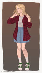 casual carrie by Shadowofjustice123