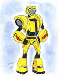 bumblebee animated elite guard