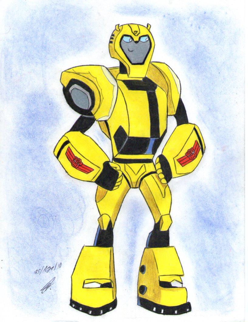 Bumblebee Transformers Animated Bumblebee Animated Elite Guard