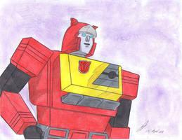 Blaster g1 transformers by ailgara
