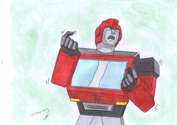 Ironhide is furious G1 by ailgara
