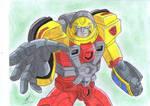 Hot Shot 3 Transformers Armada