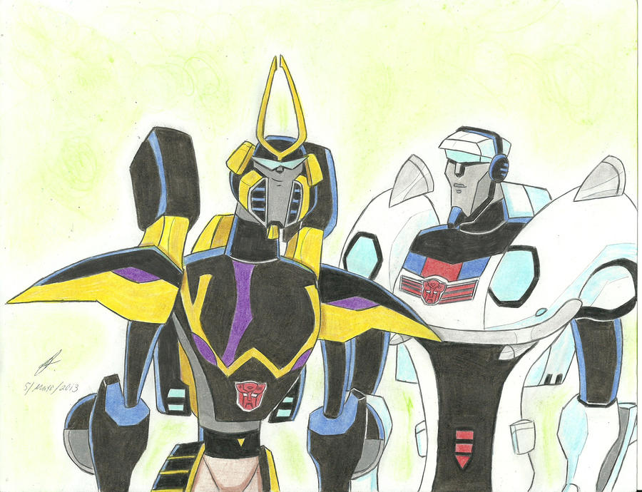prowl and jazz transformers animated by ailgara on deviantart